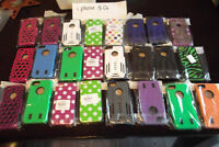 CASE CLEAR OUT IPHONE 5/5S ALL BRAND NEW