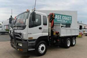 ISUZU GIGA 358CXZ ** TIPPER ** CRANE FITTED ** #4944 Archerfield Brisbane South West Preview