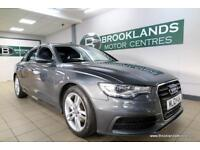 Audi A6 2.0 TDI S LINE Auto [3X AUDI SERVICES, SAT NAV and LEATHER]
