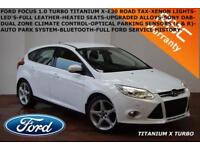 2013 Ford Focus 1.0 SCTi (125ps) EcoBoost Titanium X-HEATED LTHER-XENONS-F.F.S.H
