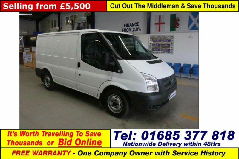 2012 - 62 - ford transit t280 2.2tdci 100ps swb fwd van (guide