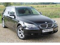 05/55 BMW 530d SE Touring Auto, 12 Services, Black with Full Dakota Leather