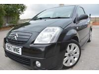 CITROEN C2 CODE 1.6 16V 3 DOOR*LOW MILEAGE*ONLY 49K MILES*FULL LEATHER*HISTORY*