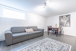 Fully Furnished, 2 Bedroom plus Den, Near Downtown