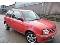 NISSAN MICRA 1.0 S AUTOMATIC 3 DOOR*LOW MILEAGE*ONLY 33K MILES FROM NEW*