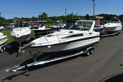 1989 Sea Ray 268 Sundancer , New motor and Trailer , Super Clean