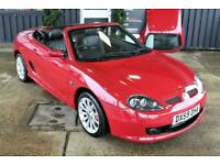 MGF MGTF LE500,FULLY LOADED,HARDTOP,NEW BELT&PUMP,1YR WARRANTY,RAC COVER