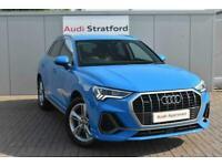 2019 Audi Q3 ESTATE 40 TFSI Quattro S Line 5dr S Tronic Auto SUV Petrol Automati