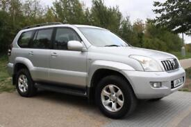 Toyota Land Cruiser 3.0 D-4D AUTO LC3 FULL TOYOTA SERVICE HISTORY HPI CLEAR 7ST