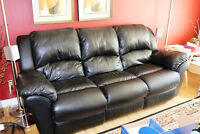 FANTASTIC ANTIQUES AND LEATHER COUCH & CHAIR GARDEN ITEMS & MORE
