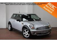 2009 Mini 1.4 One-ONLY 52K WITH FULL SERVICE HISTORY-MOOD LIGHTS-MOT MARCH 2019-