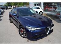 2017 Alfa Romeo Giulia 2.0 Veloce (s/s) 4dr Petrol blue Automatic