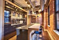 Studio/Loft neuf à vendre dans le Village à Montréal