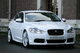 2010 Jaguar XFR [White   Leather   Fully Loaded   Supercharged V8   Not M3   Not C63]