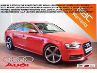 2012 Audi A4 Avant 2.0TDI S Line-PARK SENSORS-B.TOOTH-LED LIGHTS-XENONS-F.A.S.H.