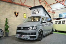 Volkswagen Transporter T6 t5 TDI AURORA EDITION CAMPERVAN 4 BERTH POPTOP