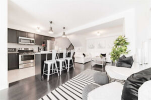 ABSOLUTELY STUNNING FREEHOLD END UNIT TOWNHOME IN AJAX!