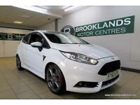 Ford Fiesta 1.6T ECOBOOST ST-2 [4X MAIN DEALER SERVICES, LEATHER, HEATED SEATS a