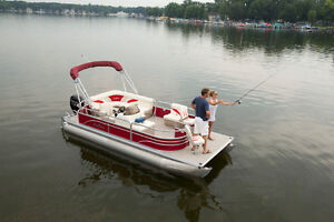 2016 and 2017 Starcraft and Sunchaser pontoon boats in stock Peterborough Peterborough Area image 2