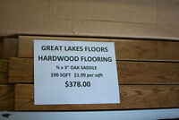 Laminate and Hardwood Flooring Clearance Sale