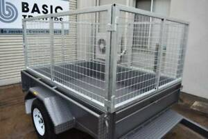 Own This Single Axle Caged Trailer For as Low as $39 Per Week Holden Hill Tea Tree Gully Area Preview