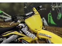 2010 SUZUKI RMZ 250 MOTOCROSS BIKE PRO TAPER BARS,NEW GRIPS