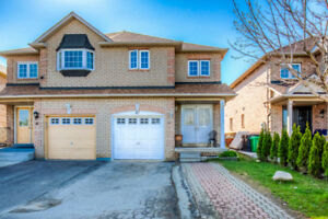 JUST LISTED! Open House this weekend - Brampton Semi!