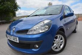 RENAULT CLIO DYNAMIQUE 1.2 TCE 3 DOOR*FULL SERVICE HISTORY*FULL 12 MONTHS MOT*