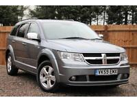 Dodge Journey 2.0 CRD SXT Manual Diesel 5 Door 7 Seat MPV Estate in Grey