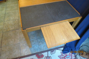 COFFEE TABLE MADE IN DENMARK-SLATE AND LIFT TOP! West Island Greater Montréal image 3