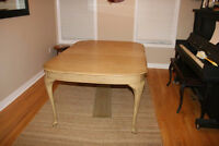 Beautiful refinished antique dining set, a steal at $250