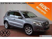 2008 Volkswagen Tiguan 2.0TDI 4 Motion SE-4WD-SERVICE HISTORY-EXCELLENT EXAMPLE-