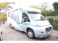 Chausson 78EB 3 Berth motorhome, 4 travelling seat belts Nice Condition