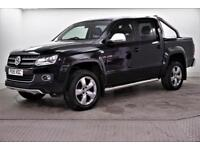 2015 Volkswagen Amarok DC TDI ULTIMATE 4MOTION Diesel black Automatic