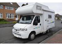 Pilote Pacific 34LSE Motorhome for Sale Four Berth Four Seatbelts TV DVD