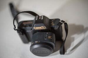 Canon T80 AF/MF Film Camera w/2 lenses Regina Regina Area image 3