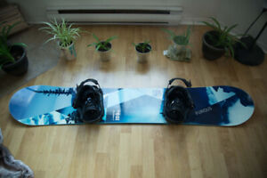 Snowboard 159 + Boots 9.5 and Bindings