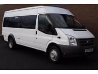 Ford Transit 2.2 TDCi 430 L Medium Roof Bus RWD 5dr (HDT, 17 Seat) (2011)