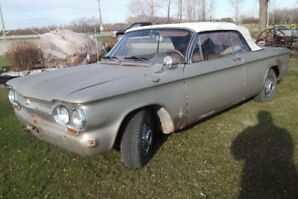 1963 Chev Corvair Convertible (rare car)