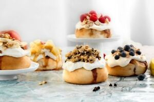 CINNAHOLIC FRANCHISES NOW AVAILABLE IN ATLANTIC CANADA