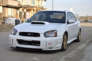 2005 Subaru Impreza WRX STi (Aspen White)