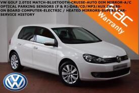 2012 Volkswagen Golf 1.6TDI ( 105ps ) BlueMotion Tech Blue Motion Match-B.TOOTH-