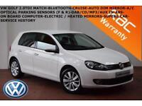 2012 Volkswagen Golf 1.6TDI ( 105ps ) BlueMotion Tech Blue Motion Match-B.TOOTH-