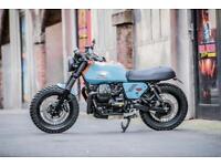 Moto-Guzzi-V7-MKII-Street-Tracker-Scramble 2016 SOLD,