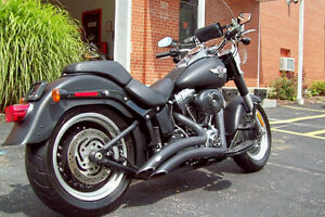Harley Davidson Fatboy from the Darkside