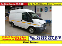 2011 - 11 - FORD TRANSIT T280 2.2TDCI 85PS FWD SWB HIGH-TOP VAN (GUIDE PRICE)