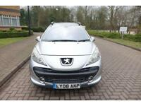 2008 Peugeot 207 SW 1.6 VTi 120 Outdoor Right hand drive PX To Clear