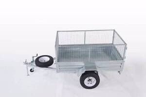 LOWEST PRICE EVER! GAL TRADIE 7X5 BOX CAGE TRAILER Wetherill Park Fairfield Area Preview