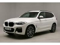 "2018 BMW X3 xDrive20d M Sport 5dr Step Auto HEADS-UP DISPLAY - 21"" ALLOYS -"