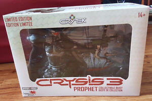 CRYSIS 3 PROPHET COLLECTIBLE BUST LIMITED EDITION COLLECTORS TOY Kingston Kingston Area image 1